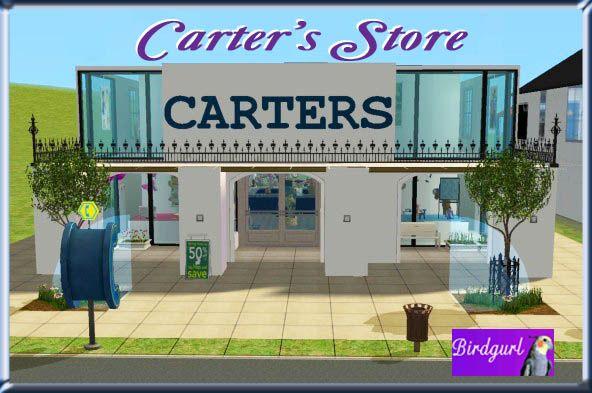 Birdgurl's Sims 2 Creations - Page 4 CartersStorebanner
