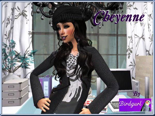 Birdgurl's Sims 2 Creations - Page 5 Cheyennebanner