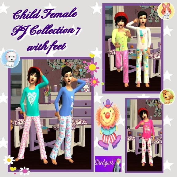 Birdgurl's Sims 2 Creations - Page 9 Child%20Female%20PJ%20Collection%207%20with%20feet%20banner_zps0ncq9unq