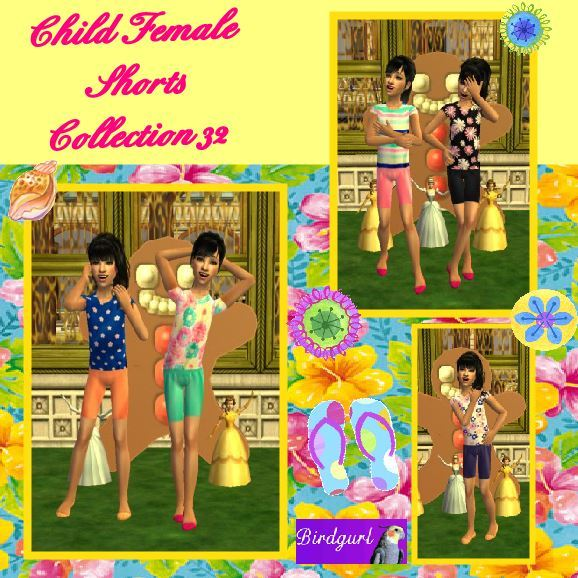Birdgurl's Sims 2 Creations - Page 9 Child%20Female%20Shorts%20Collection%2032%20banner_zpss2khbf09