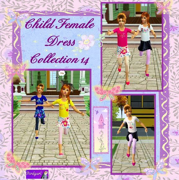 Birdgurl's Sims 2 Creations - Page 2 ChildFemaleDressCollection14banner
