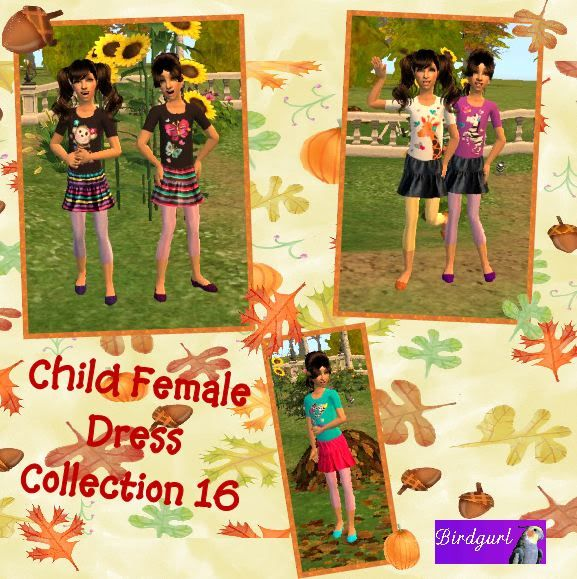 Birdgurl's Sims 2 Creations - Page 2 ChildFemaleDressCollection16banner