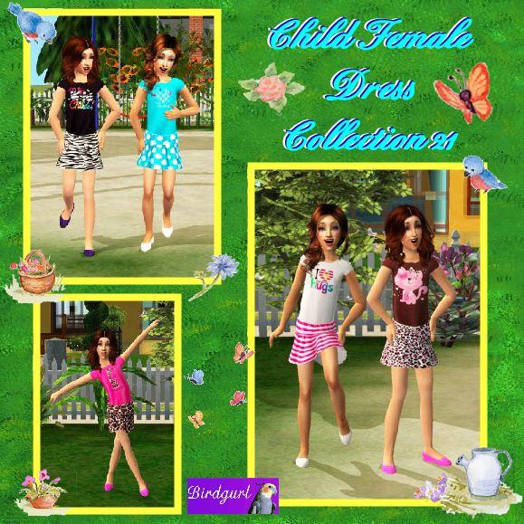 Birdgurl's Sims 2 Creations - Page 5 ChildFemaleDressCollection21banner