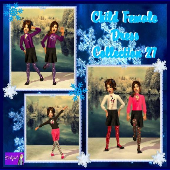 Birdgurl's Sims 2 Creations - Page 7 ChildFemaleDressCollection27banner_zps66e76118
