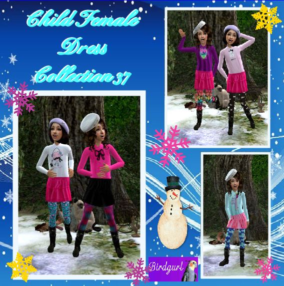 Birdgurl's Sims 2 Creations - Page 9 ChildFemaleDressCollection37banner_zps3b2055b3