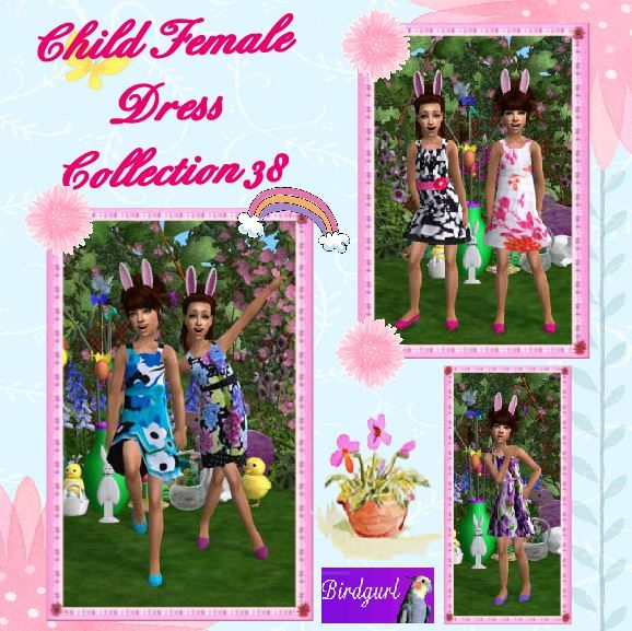 Birdgurl's Sims 2 Creations - Page 9 ChildFemaleDressCollection38banner_zps48f73d6f