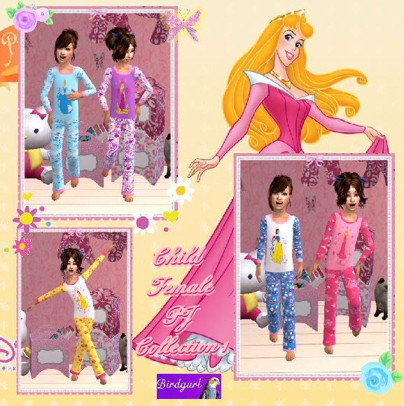 Birdgurl's Sims 2 Creations - Page 7 ChildFemalePJCollection1banner_zpsc23ecbfd