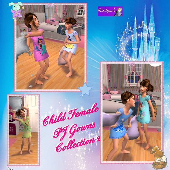 Birdgurl's Sims 2 Creations - Page 5 ChildFemalePJGownsCollection2banner