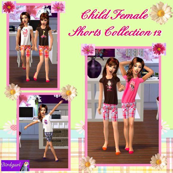 Birdgurl's Sims 2 Creations - Page 5 ChildFemaleShortsCollection12banner