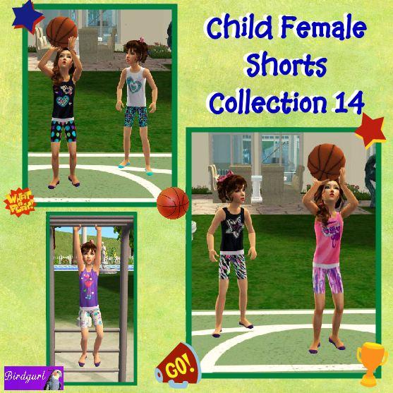Birdgurl's Sims 2 Creations - Page 5 ChildFemaleShortsCollection14banner