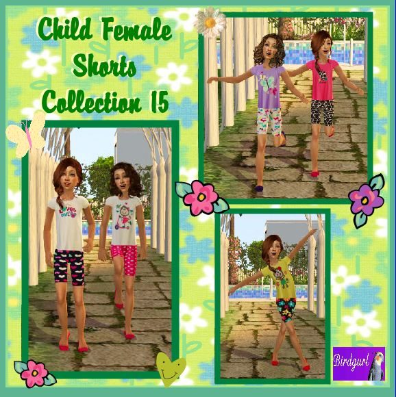 Birdgurl's Sims 2 Creations - Page 5 ChildFemaleShortsCollection15banner