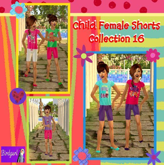 Birdgurl's Sims 2 Creations - Page 5 ChildFemaleShortsCollection16banner