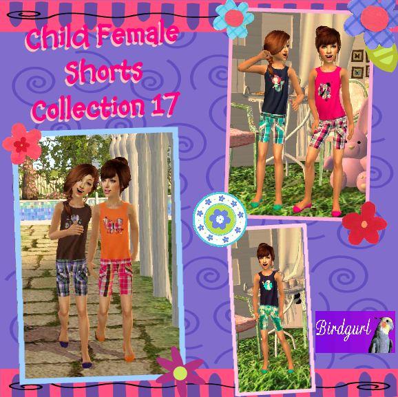Birdgurl's Sims 2 Creations - Page 5 ChildFemaleShortsCollection17banner