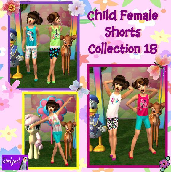 Birdgurl's Sims 2 Creations - Page 5 ChildFemaleShortsCollection18banner