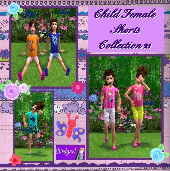 Birdgurl's Sims 2 Creations - Page 8 ChildFemaleShortsCollection21banner_zps546ff998