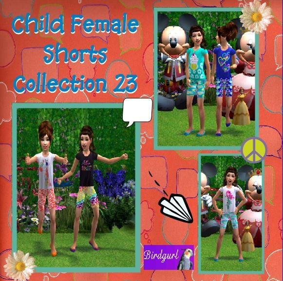 Birdgurl's Sims 2 Creations - Page 8 ChildFemaleShortsCollection23banner_zps8199a273