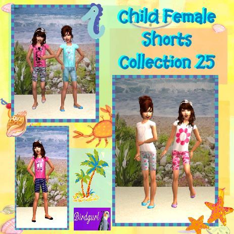 Birdgurl's Sims 2 Creations - Page 9 ChildFemaleShortsCollection25banner_zpsca997b75