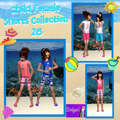 Birdgurl's Sims 2 Creations - Page 9 ChildFemaleShortsCollection26banner_zps243a8030