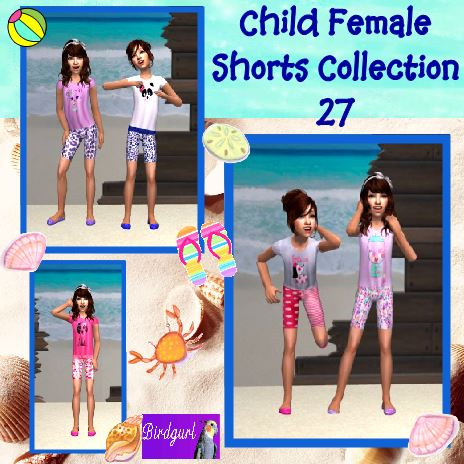 Birdgurl's Sims 2 Creations - Page 9 ChildFemaleShortsCollection27banner_zps53271fee