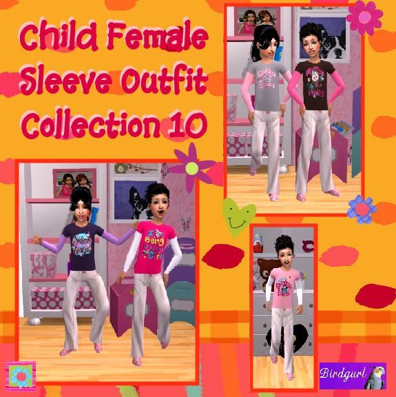 Birdgurl's Sims 2 Creations - Page 4 ChildFemaleSleeveOutfitCollection10banner