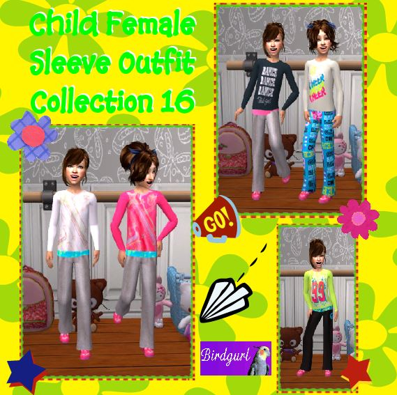 Birdgurl's Sims 2 Creations - Page 7 ChildFemaleSleeveOutfitCollection16banner_zps3e65d860