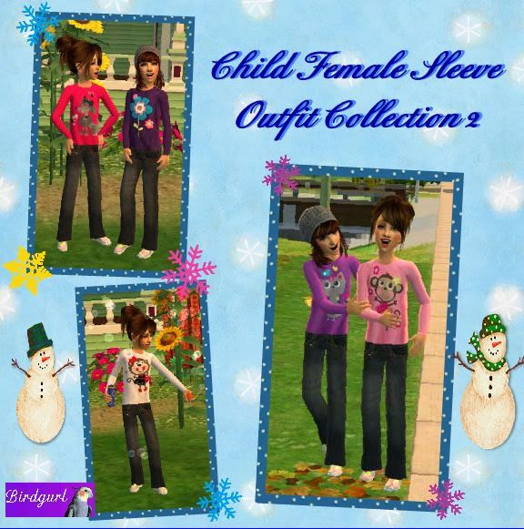 Birdgurl's Sims 2 Creations - Page 3 ChildFemaleSleeveOutfitCollection2banner