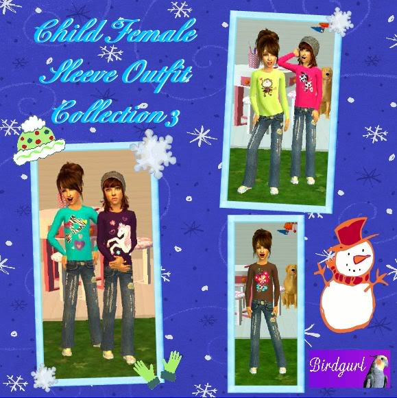 Birdgurl's Sims 2 Creations - Page 3 ChildFemaleSleeveOutfitCollection3banner