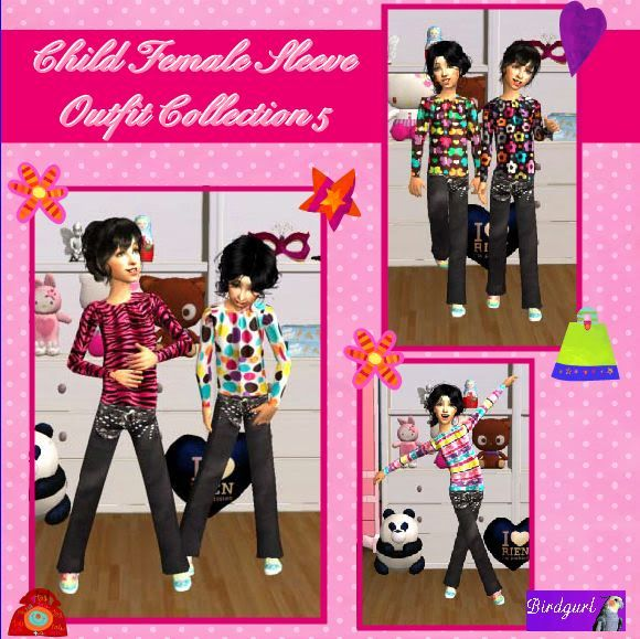 Birdgurl's Sims 2 Creations - Page 4 ChildFemaleSleeveOutfitCollection5banner