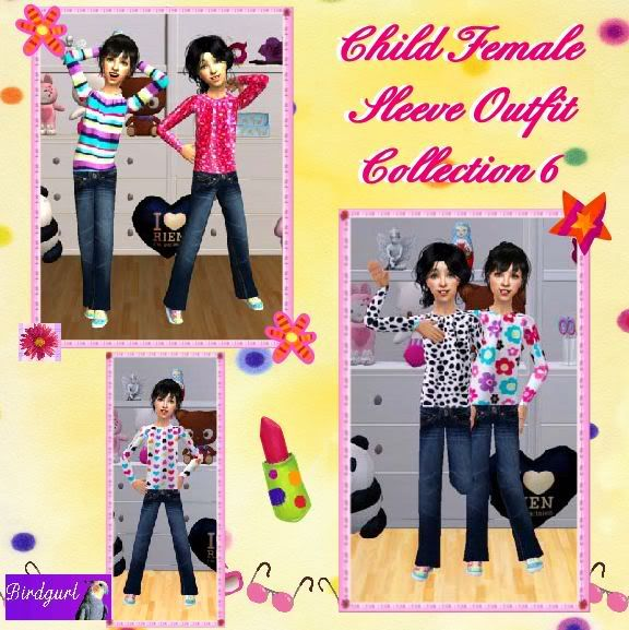 Birdgurl's Sims 2 Creations - Page 4 ChildFemaleSleeveOutfitCollection6banner