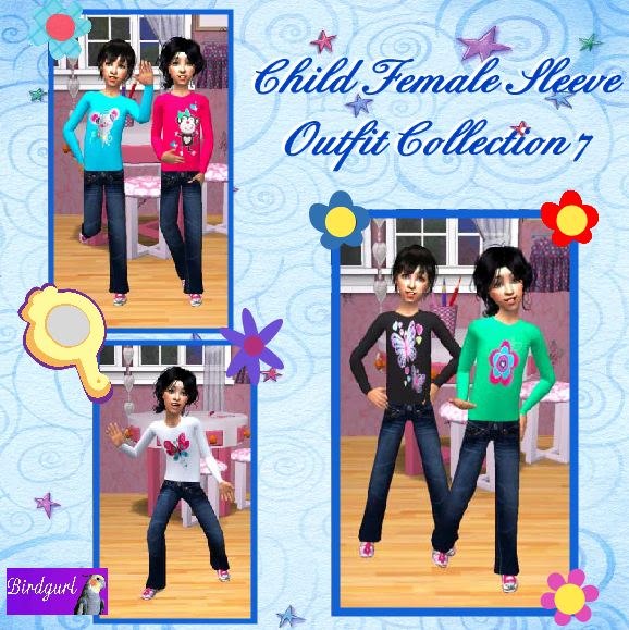 Birdgurl's Sims 2 Creations - Page 4 ChildFemaleSleeveOutfitCollection7banner