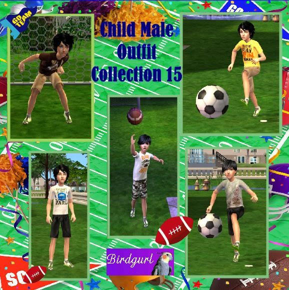 Birdgurl's Sims 2 Creations ChildMaleOutfitCollection15banner