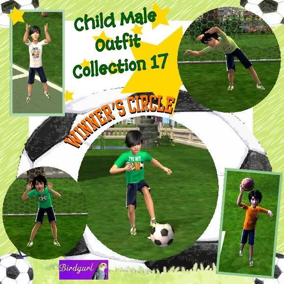 Birdgurl's Sims 2 Creations ChildMaleOutfitCollection17banner