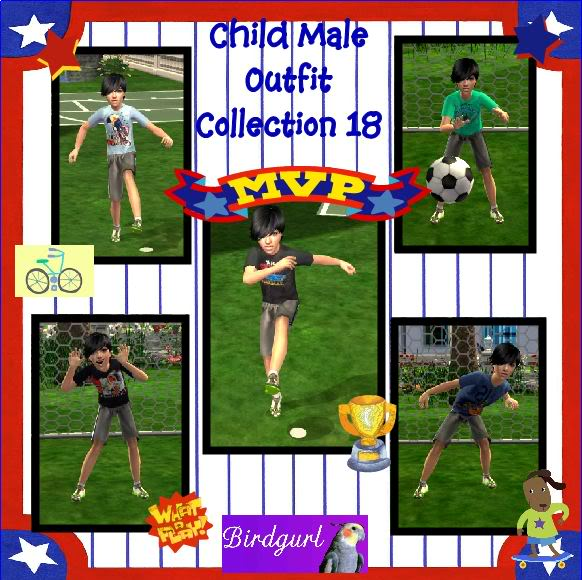 Birdgurl's Sims 2 Creations ChildMaleOutfitCollection18banner