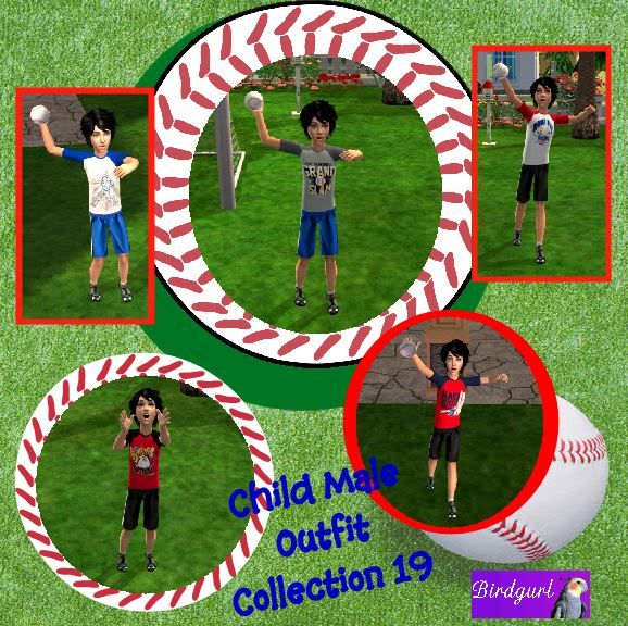 Birdgurl's Sims 2 Creations ChildMaleOutfitCollection19banner