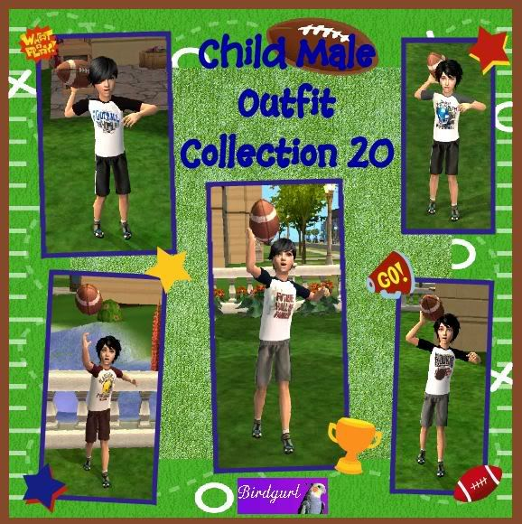 Birdgurl's Sims 2 Creations ChildMaleOutfitCollection20banner