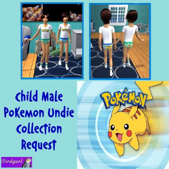 Birdgurl's Sims 2 Creations ChildMalePokemonUndieCollectionbanner1