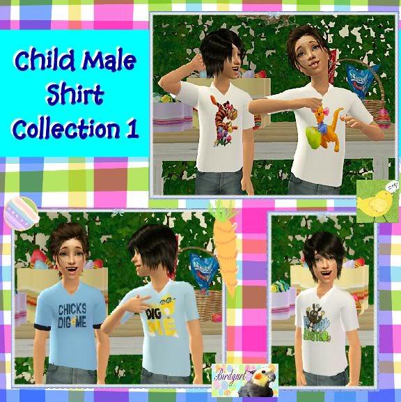 Birdgurl's Sims 2 Creations - Page 4 ChildMaleShirtCollection1banner
