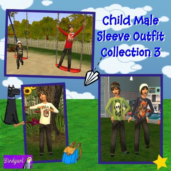 Birdgurl's Sims 2 Creations - Page 3 ChildMaleSleeveOutfitCollection3banner