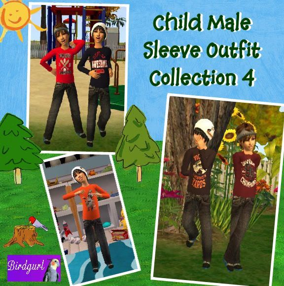 Birdgurl's Sims 2 Creations - Page 3 ChildMaleSleeveOutfitCollection4banner