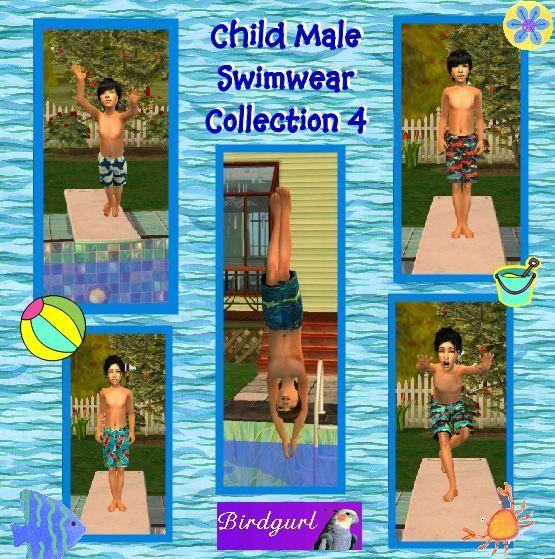 Birdgurl's Sims 2 Creations - Page 5 ChildMaleSwimwearCollection4banner