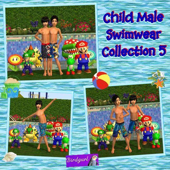 Birdgurl's Sims 2 Creations - Page 5 ChildMaleSwimwearCollection5banner
