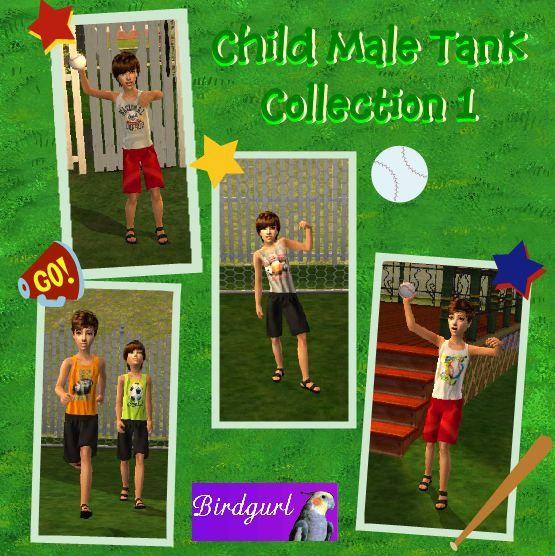 Birdgurl's Sims 2 Creations - Page 5 ChildMaleTankCollection1banner