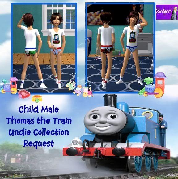 Birdgurl's Sims 2 Creations ChildMaleThomastheTrainUndieCollectionbanner1