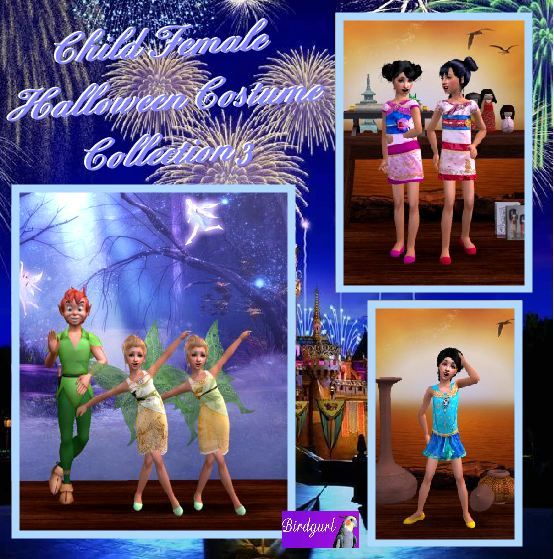 Birdgurl's Sims 2 Creations - Page 5 ChildFemaleHalloweenCostumeCollection3banner