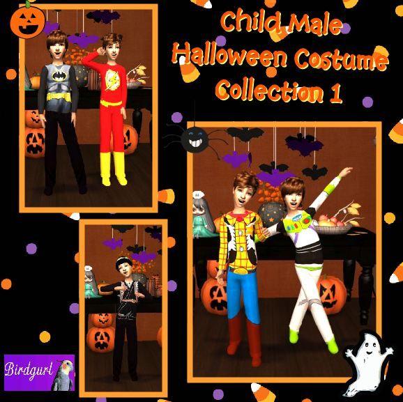 Birdgurl's Sims 2 Creations - Page 5 ChildMaleHalloweenCostumeCollection1banner