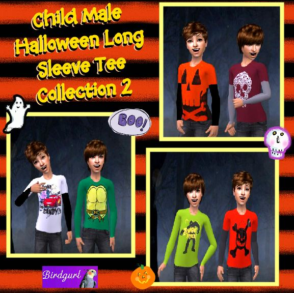 Birdgurl's Sims 2 Creations - Page 5 ChildMaleHalloweenLongSleeveTeeCollection2banner1