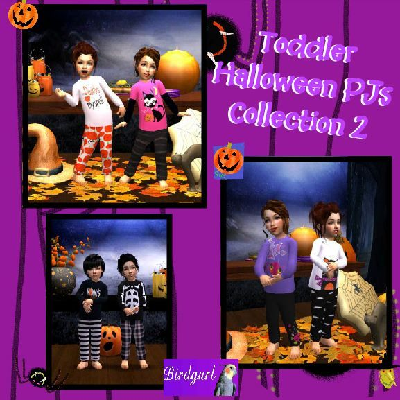 Birdgurl's Sims 2 Creations - Page 5 ToddlerHalloweenPJsCollection2banner