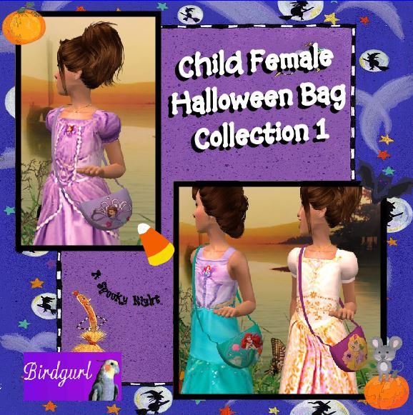 Birdgurl's Sims 2 Creations - Page 8 ChildFemaleHalloweenBagCollection1banner_zps61f68cbe