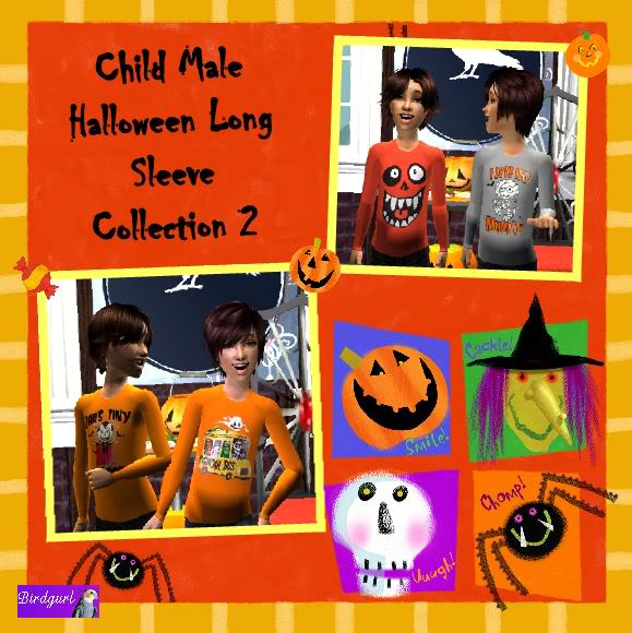 Birdgurl's Sims 2 Creations - Page 2 ChildMaleHalloweenLongSleeveCollection2banner1