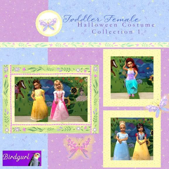 Birdgurl's Sims 2 Creations - Page 2 ToddlerFemaleHalloweenCostumesCollection1banner